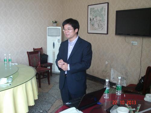 记同力兴科萧县黄口镇养鸡技术研讨会图片